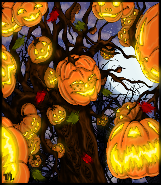 The Halloween Tree by Mass--Hysteria on DeviantArt