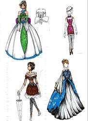 Dress Dump by Mollykittykat