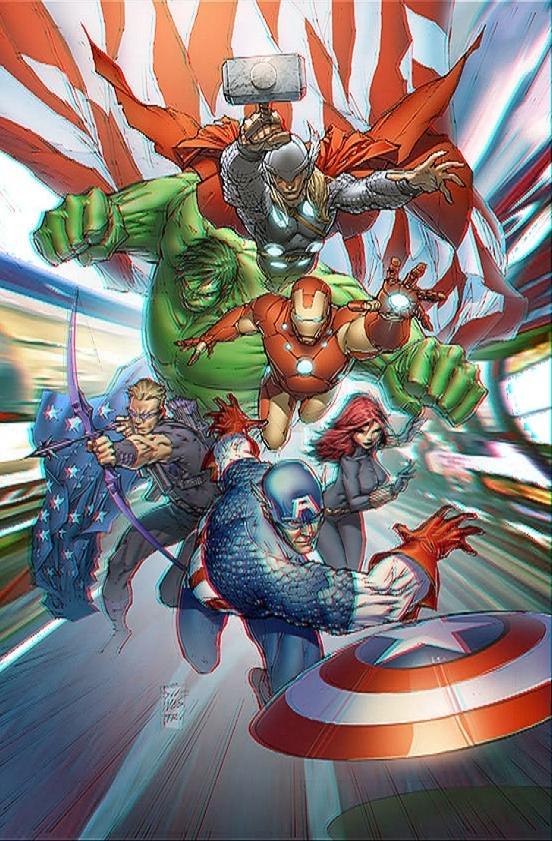 Avenger Assemble 3D 2 by xmancyclops