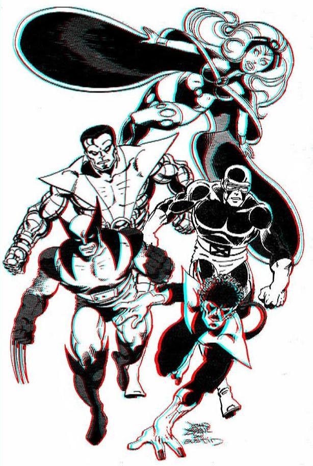 classic_x_men_by_byrne_3d_anaglyph_by_xmancyclops-d4rx3k9 dans 3D