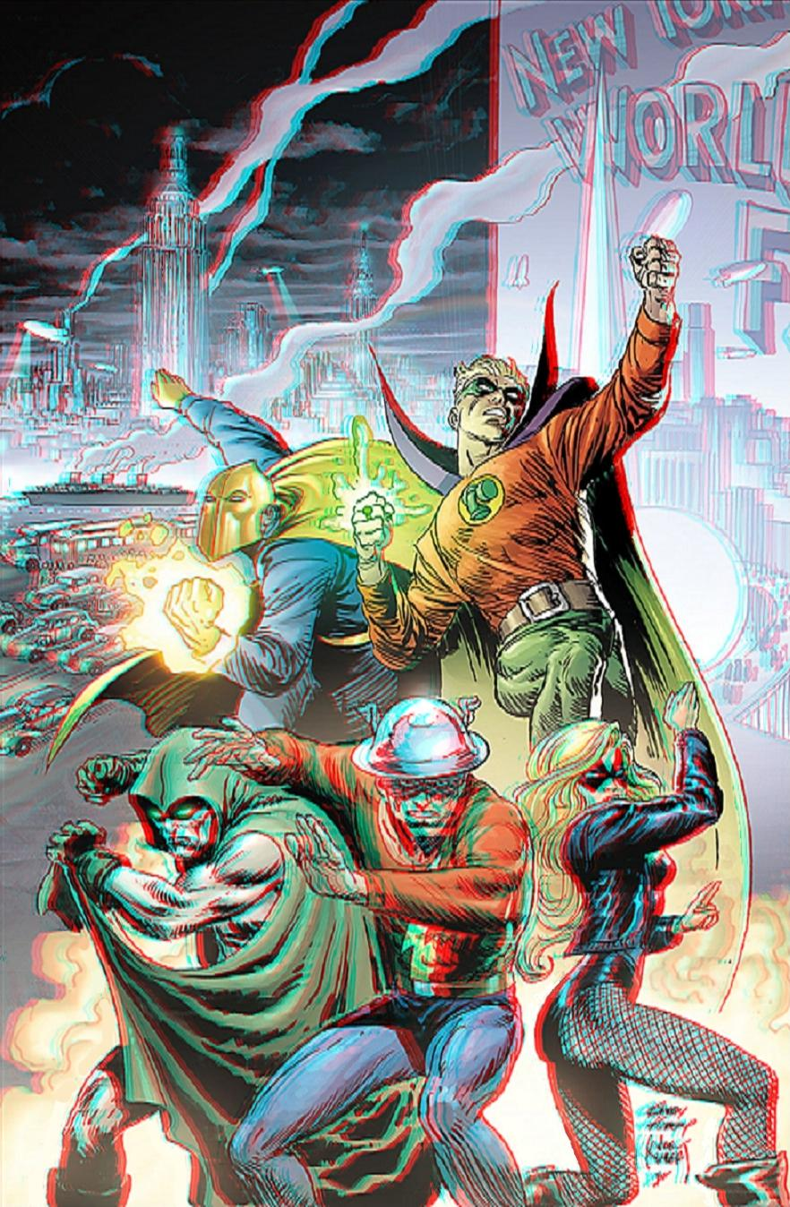JSA in 3D Anaglyph by xmancyclops