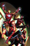 Spider-Men 3D Anaglyph 2