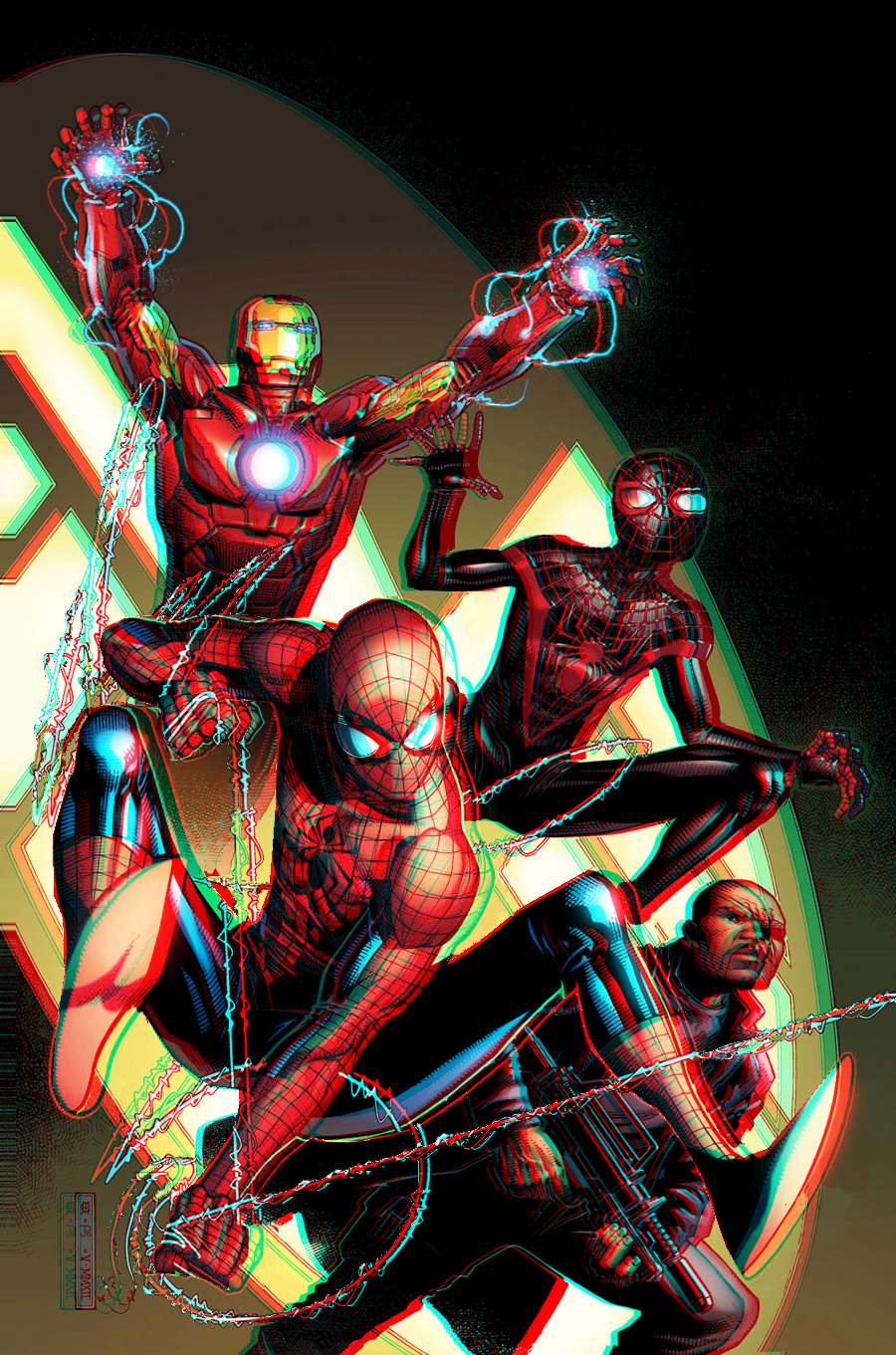 spider_men_3d_anaglyph_2_by_xmancyclops-d556cpu dans 3D