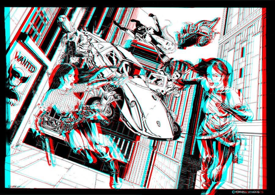 nick_fury_3d_anaglyph_by_xmancyclops-d5choaz dans 3D
