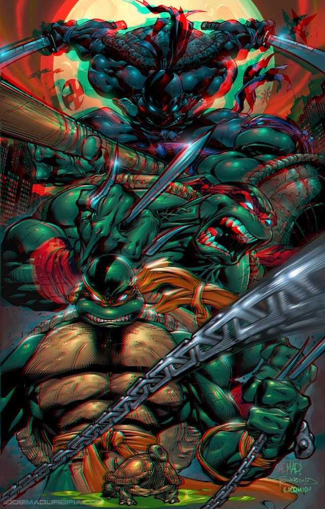 tmnt_by_joe_madureira_3d_anaglyph_by_xmancyclops-d5l02t4 dans 3D