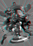 Avengers Earth's Mightiest Heroes 3D Anaglyph