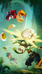 Rayman Legends in 3D Anaglyph by xmancyclops