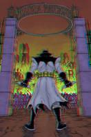 Batman Inc 3D Anaglyph 2 by xmancyclops