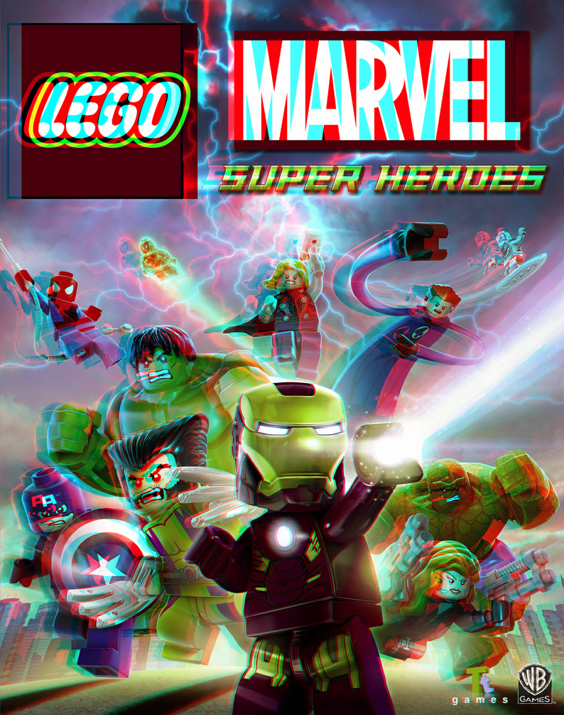 lego_marvel_super_heroes_in_3d_anaglyph_by_xmancyclops-d6dq92z dans 3D