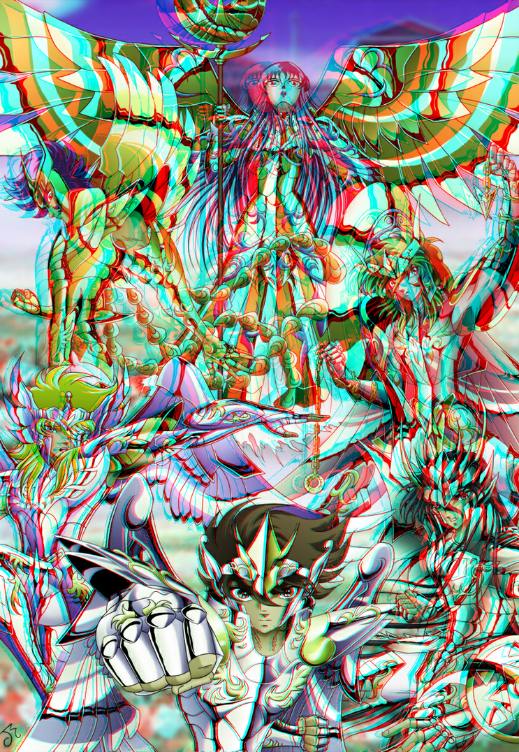saint_seiya_in_3d_anaglyph_by_xmancyclops-d6ifje1 dans manga