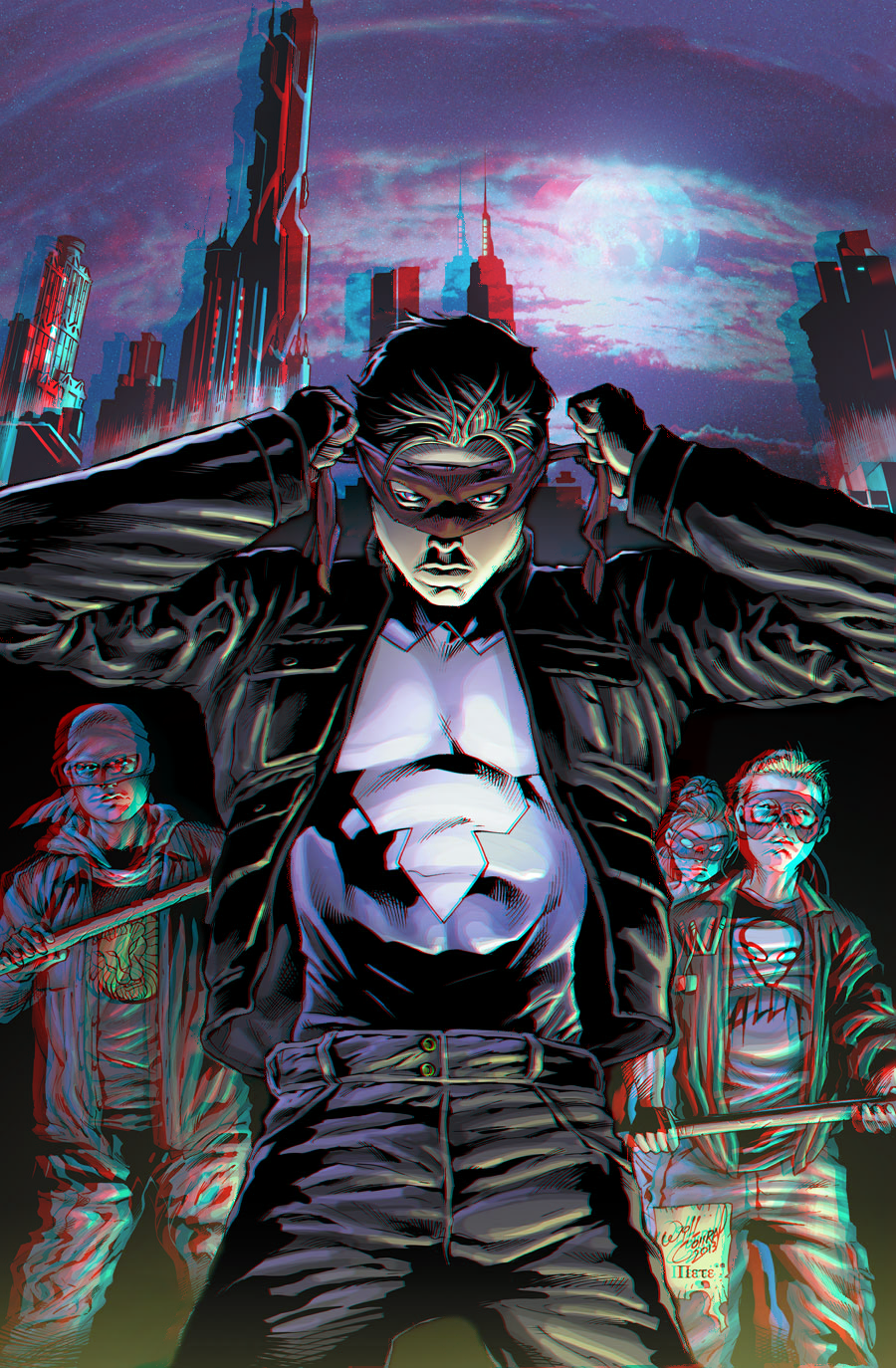 nightwing_zero_year_in_3d_anaglyph_by_xmancyclops-d70y4g0 dans 3D