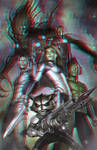 Guardians of the Galaxy in 3D Anaglyph