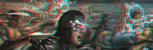 Astonishing X-Men in 3D Anaglyph 3 by xmancyclops