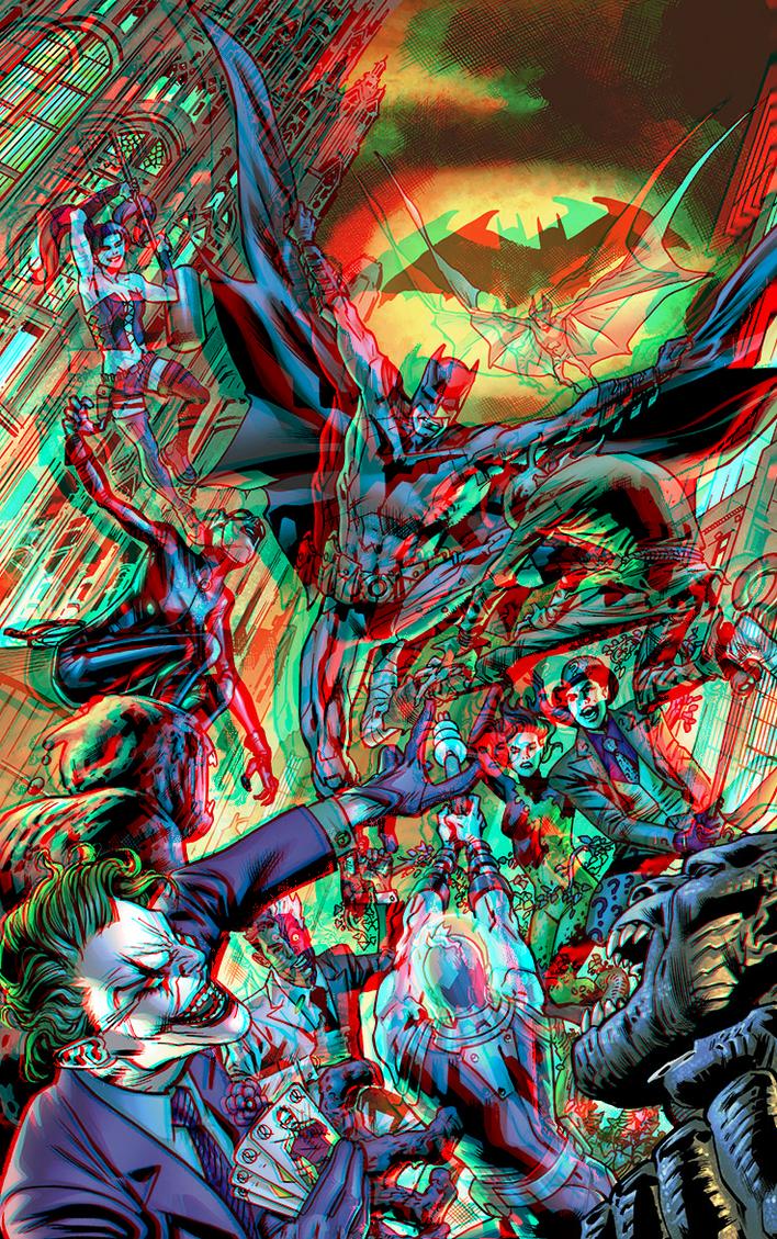 Batman 75th Anniversary 3D Conversion by xmancyclops