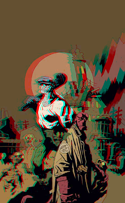 hellboy_and_the_goon_in_3d_anaglyph_by_xmancyclops-d84o7o9 dans 3D