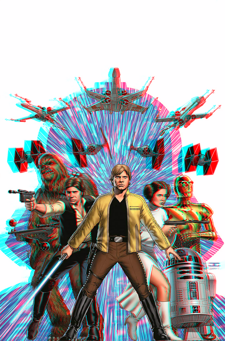 Star wars in 3d anaglyph by xmancyclops on deviantart for 3d star net