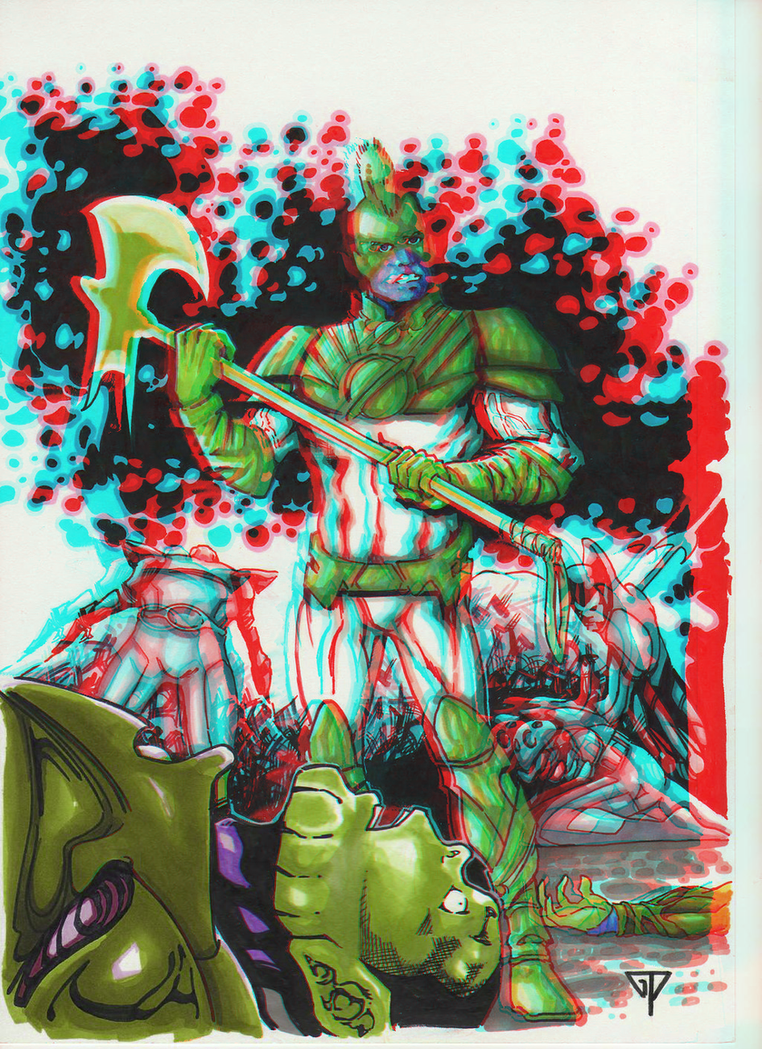 mar_vell_the_barbarian_in_3d_anaglyph_by_xmancyclops-d8lp3sp dans 3D
