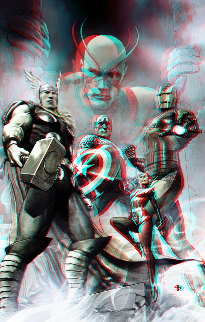 the_avengers_by_adi_granov_in_3d_anaglyph_by_xmancyclops-d8qa7ah dans 3D