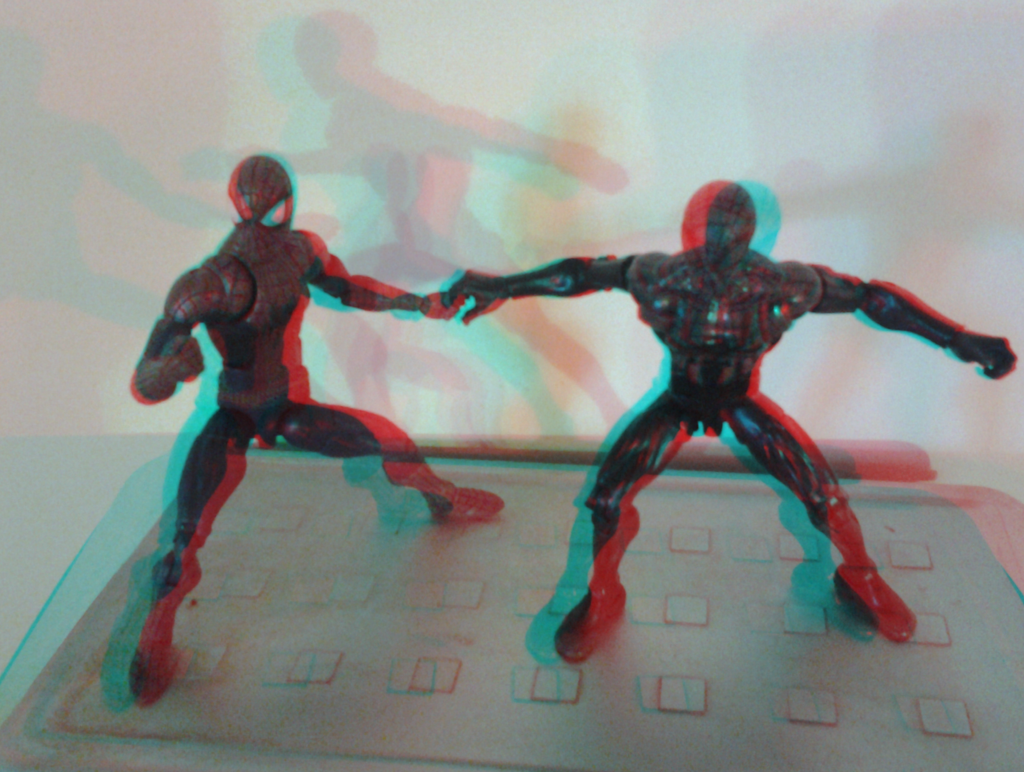 spidey_action_figures_in_3d_anaglyph_by_xmancyclops-d9z7tyg dans figurines