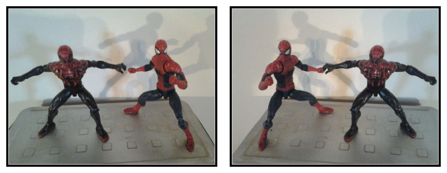 spidey_action_figures_in_3d_mirror_by_xmancyclops-d9z7ump
