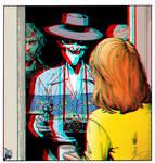 Killing Joke in 3D Anaglyph by xmancyclops