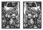 TMNT Universe in 3D Mirror by xmancyclops