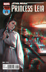 Princess Leia in 3D Anaglyph