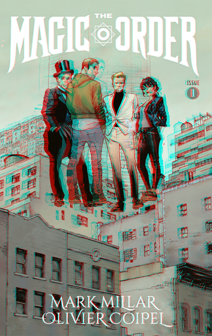 The Magic Order in 3D Anaglyph by xmancyclops