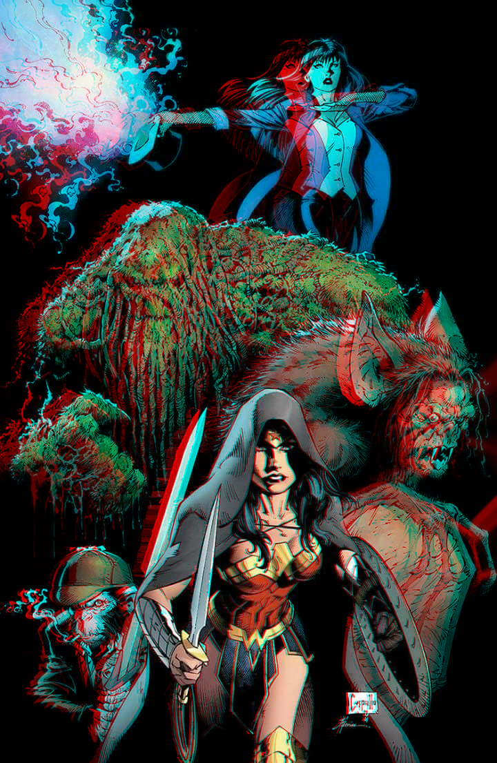 Justice League Dark by Greg Capullo in 3D by xmancyclops