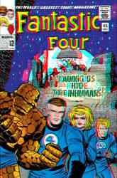 Fantastic Four by Stan Lee and Jack Kirby in 3D by xmancyclops