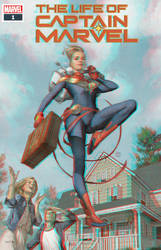 Captain Marvel in 3D by Julian Totino Tedesco by xmancyclops