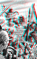 Conan by Ron Garney in 3D Anaglyph