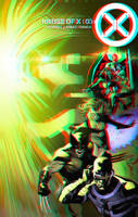 House of X by Pepe Larraz in 3D Anaglyph by xmancyclops