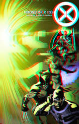 House of X by Pepe Larraz in 3D Anaglyph