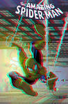 Amazing Spider-Man in 3D Anaglyph by xmancyclops
