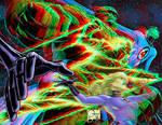 Fantastic Four by Joe Quesada new 3D by xmancyclops