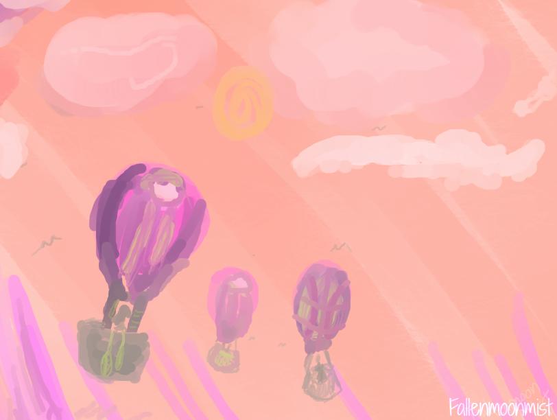 Air Ballons by fallenmoonmist