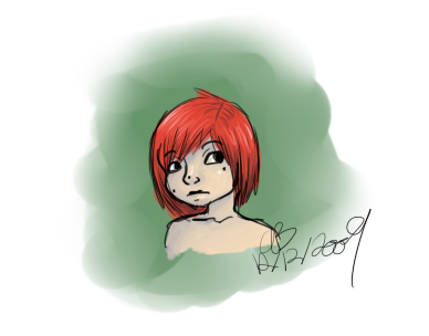 Redhead Doodle by ChapperIce