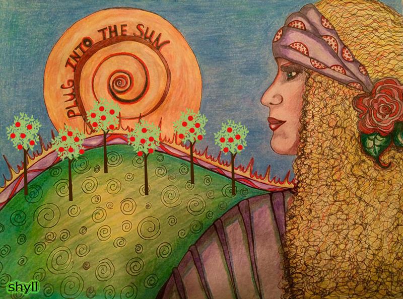 Plug into the Sun by Shyll-j