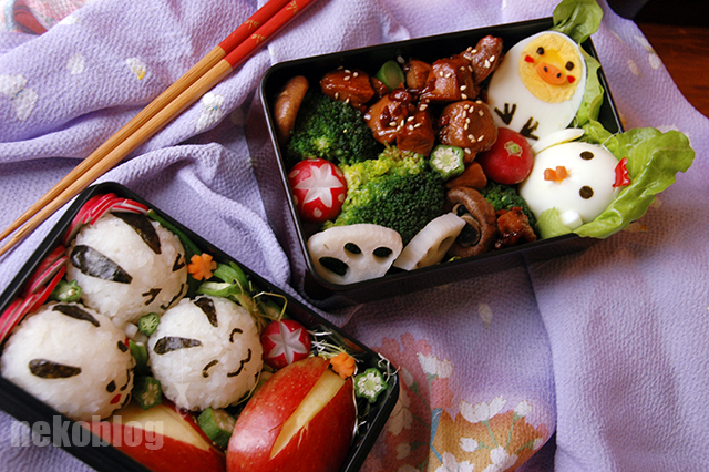 Easter Bento by YnekochanY