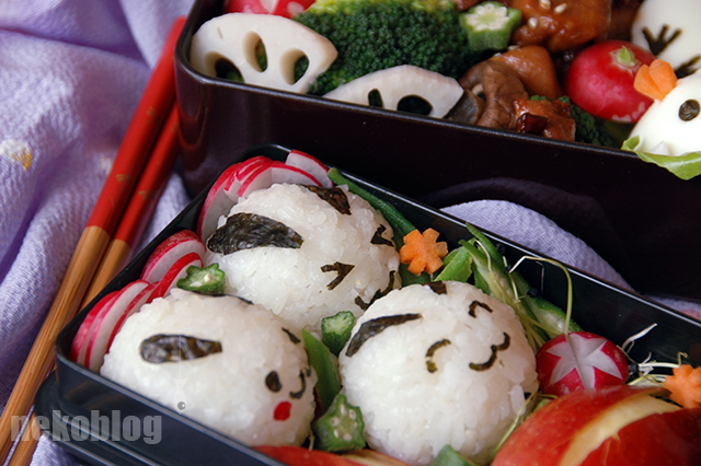 Easter Bento close up by YnekochanY