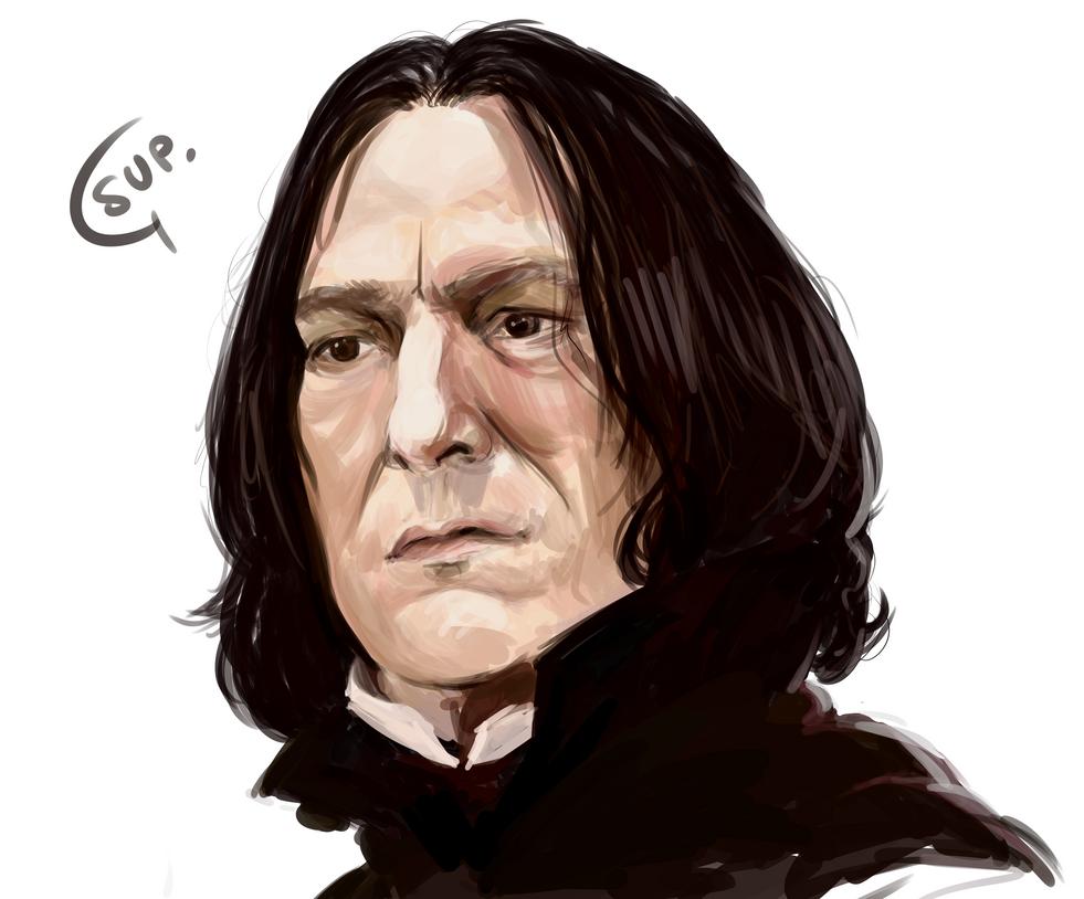 Snape by 326Kamechan