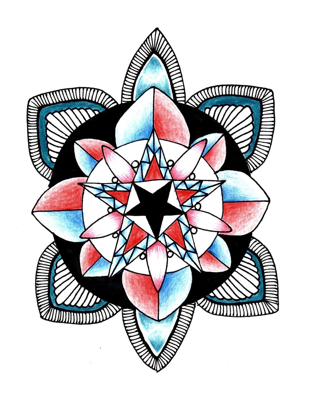 Mandala Tattoo Design By DagmarBakker Mandala Tattoo Design By DagmarBakker