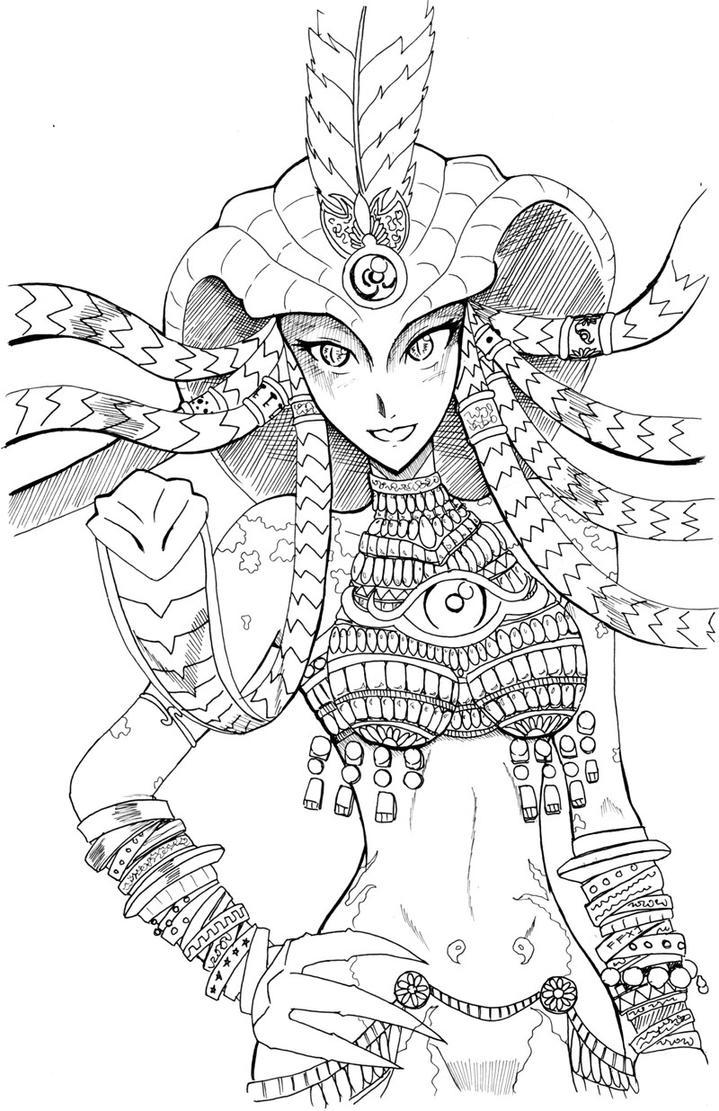 Medusa FFXI by keichishoshuko
