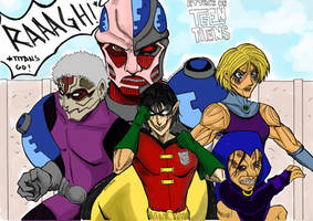 Teen Titans Go! by keichishoshuko