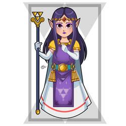 Princess Hilda by PieIsADessert
