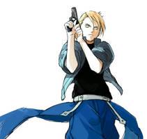 Riza Hawkeye by KuguKiugu