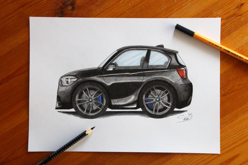 BMW 1 series Comicstyle by S04-Joker