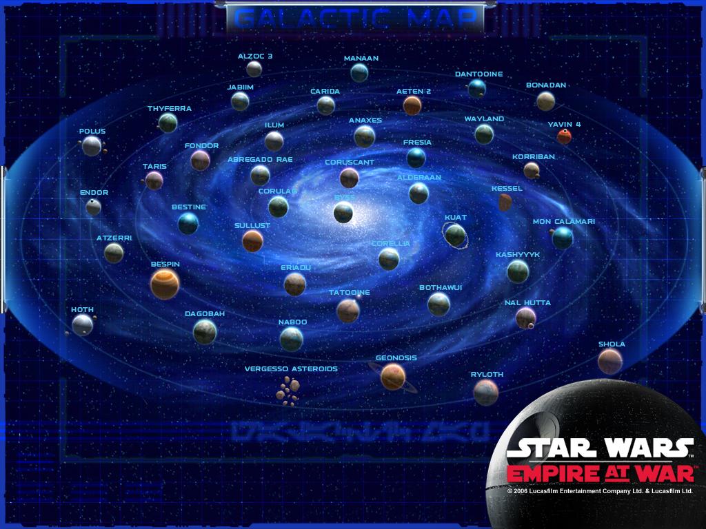 Star Wars Map By Firedevel On Deviantart