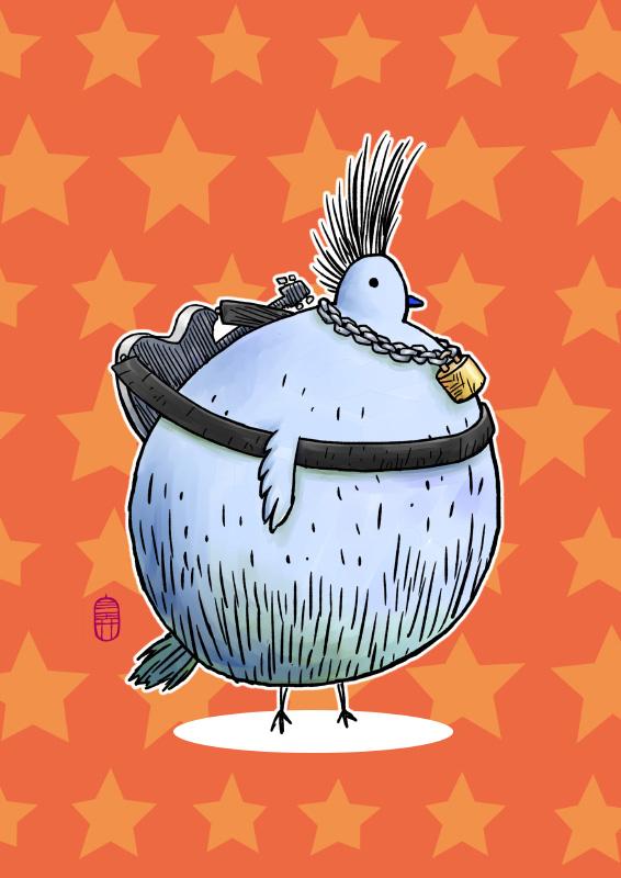 Punkbird by hanahanamin